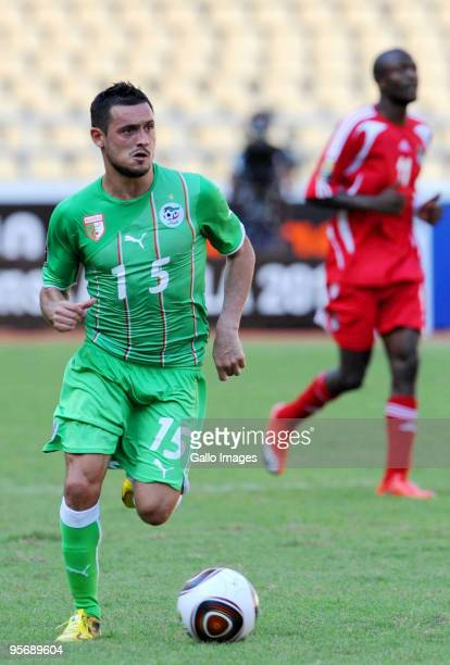 Karim Ziani of Algeria in action during the African Cup of Nations group A match between Malawi and Algeria at the November 11 Stadium on January 11...