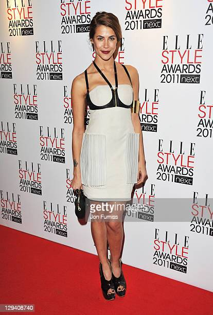 Karima Adebibe arrives for the ELLE Style Awards 2011 at the Grand Connaught Rooms on February 14 2011 in London England