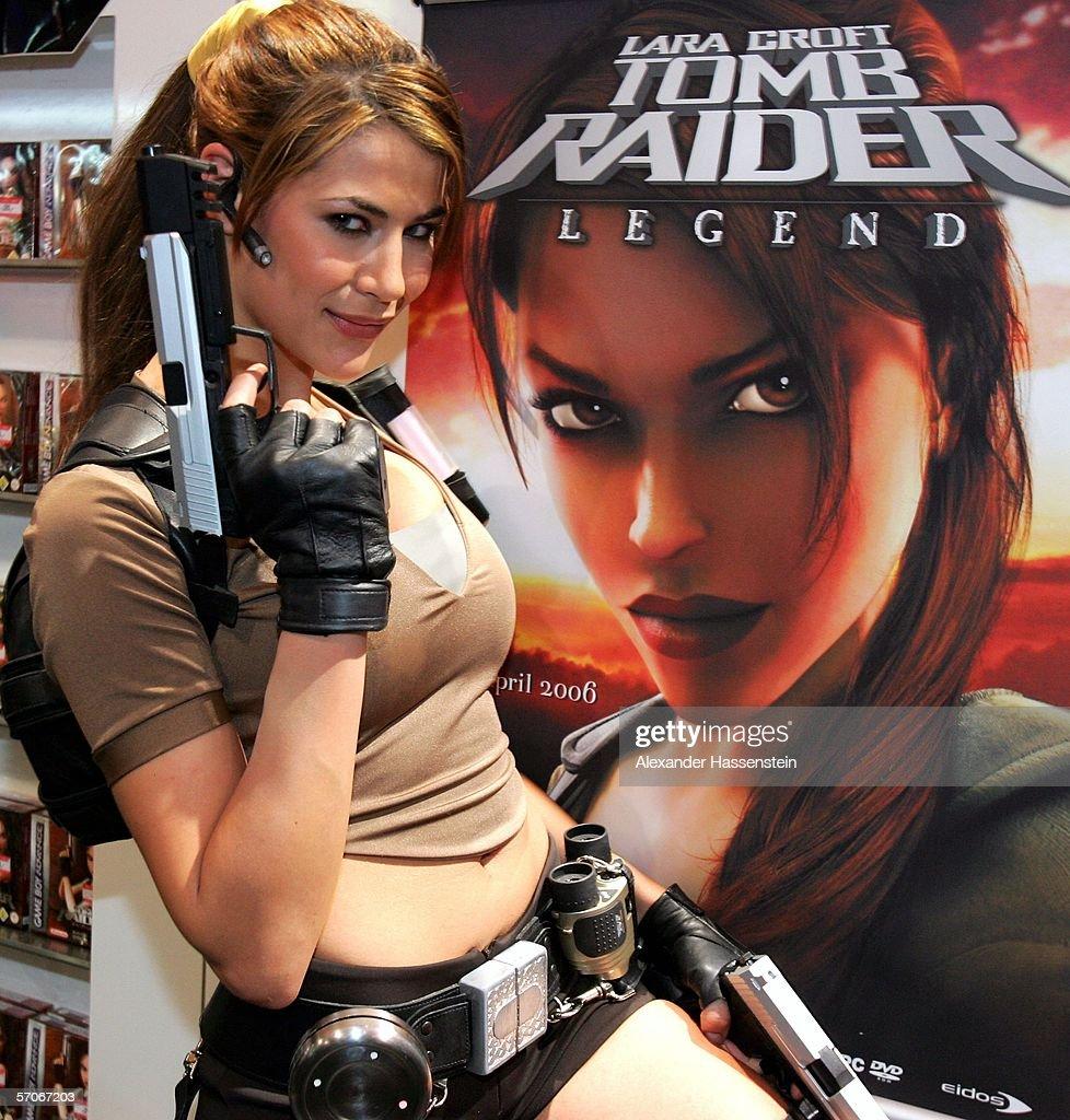 Lara Croft Photocall : News Photo