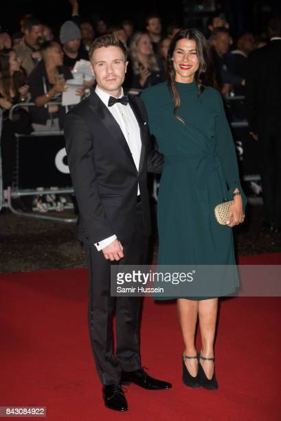 Karima McAdams and Joe Dempsie attend the GQ Men Of The Year Awards at Tate Modern on September 5 2017 in London England