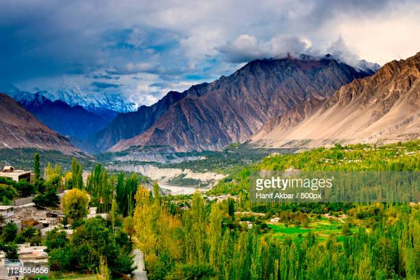 karimabad hunza - gilgit baltistan stock pictures, royalty-free photos & images