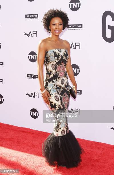 Karimah Westbrook arrives to the American Film Institute's 46th Life Achievement Award Gala Tribute held on June 7 2018 in Hollywood California
