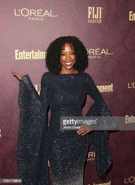 Karimah Westbrook attends FIJI Water at Entertainment Weekly PreEmmy Party on September 15 2018 in Los Angeles California