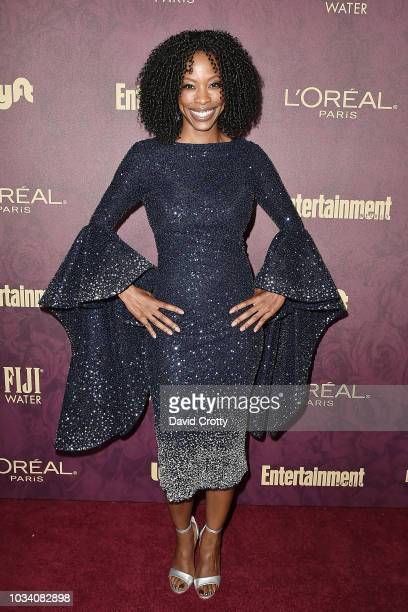 Karimah Westbrook attends the Entertainment Weekly PreEmmy Party 2018 at Sunset Tower Hotel on September 15 2018 in West Hollywood California
