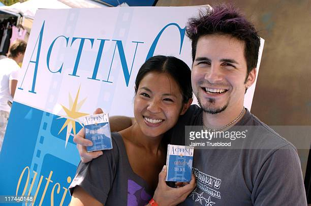 Karin Anna Cheung and Hal Sparks at Acting Outside the Box Photo by Jaimie Trueblood/WireImage for Silver Spoon