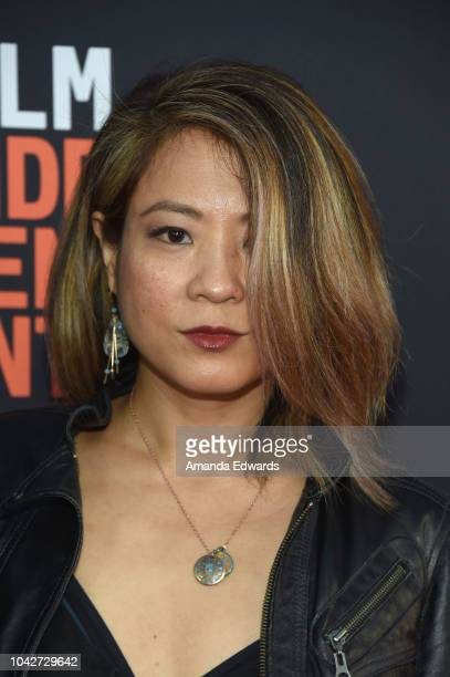 """Karin Anna Cheung attends the Closing Night Screening of """"Nomis"""" during the 2018 LA Film Festival at ArcLight Cinerama Dome on September 28, 2018 in..."""