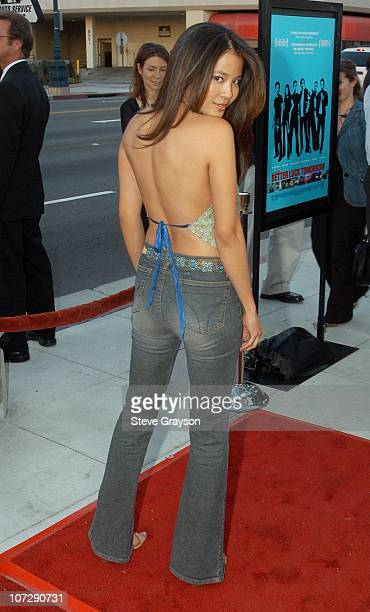 Karin Anna Cheung during 'Better Luck Tomorrow' Los Angeles Premiere at Landmark Cecchi Gori Fine Arts Theater in Beverly Hills California United...