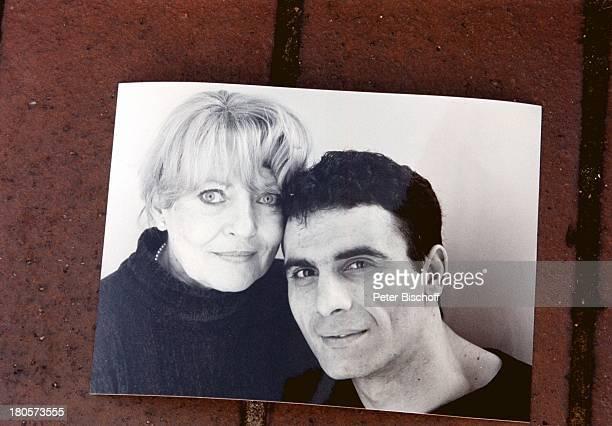 Karin Baal , Lebensgefährte Cevdet Celik, Deutschland, Europa, schwarz-weiß, Bild, Foto, Freund, Schauspielerin, LG;;