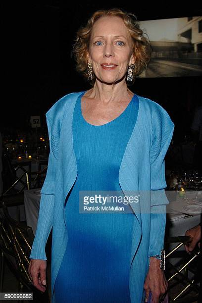 Karin Bacon attends Friends of the High Line 5th Annual Summer Benefit at Cipriani Wall Street on July 13 2005 in New York City