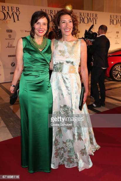 Karin Brandner and Adele Neuhauser during the ROMY award at Hofburg Vienna on April 22 2017 in Vienna Austria