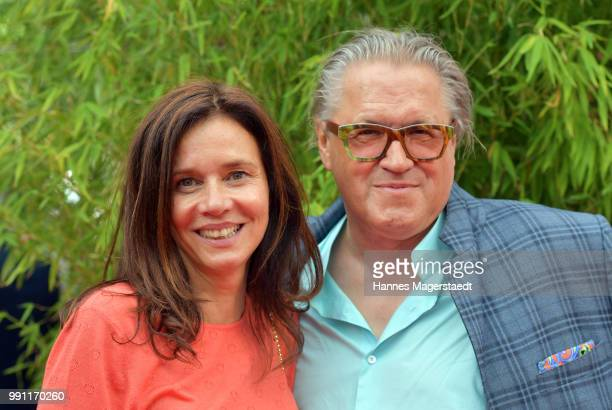 Karin Brandner and Michael Brandner during the Bavaria Film reception during the Munich Film Festival 2018 at Kuenstlerhaus am Lenbachplatz on July 3...