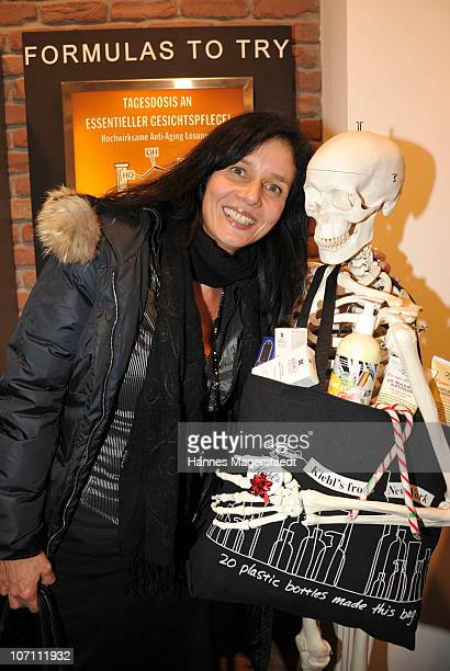 Karin Brandner attends the Kiehl's Store Opening on November 24 2010 in Munich Germany
