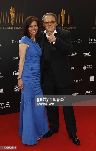 Karin Deutscher and Michael Brandner attend the Lola German Film Award 2012 at FriedrichstadtPalast on April 27 2012 in Berlin Germany