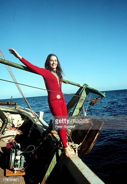 Karin Dor TVFilm Haie an Bord SchiffMeer Wasser
