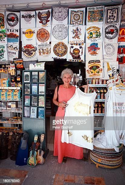 Karin Eickelbaum Freizeitpark von XelHaTulum/Golf von Mexico Mexiko UrlaubSouvenirshop kaufen Strandkleid Kleid