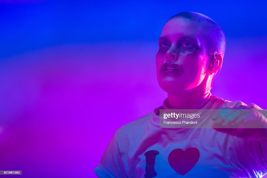 Fever Ray Perform In Milan : News Photo