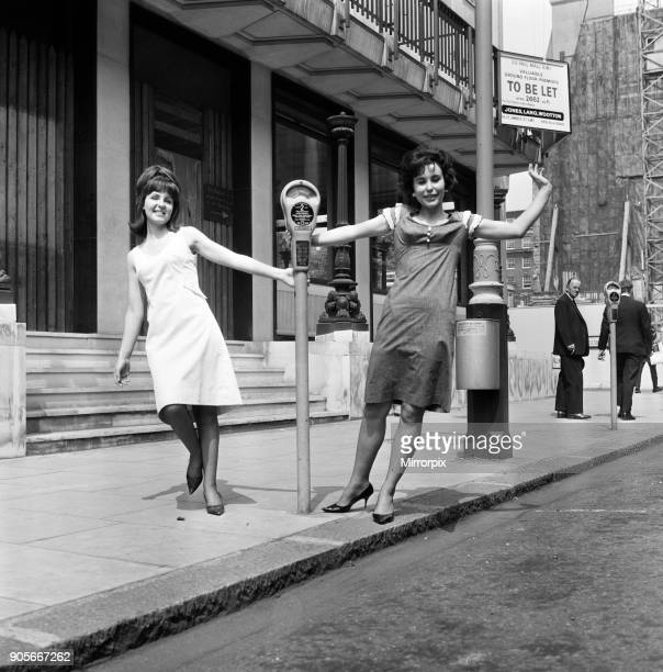 Karin Fernald aged 20 and Pauline Collins are two of the stars of the new West End play 'Passion Flower Hotel' 11th June 1965