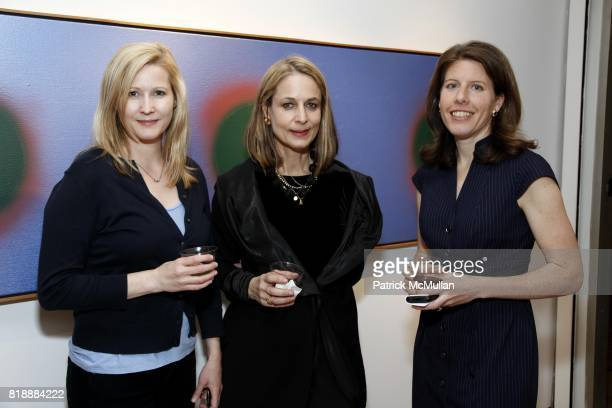 Karin Gardner Lori Yarotsky and Amy King attend ARTNET Auctions Modern Contemporary Preview at The Fuller Building on May 19 2010 in New York City