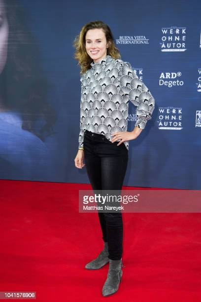 Karin Hanczewski attends the premiere of the film 'Werk ohne Autor' at Zoo Palast on September 26 2018 in Berlin Germany