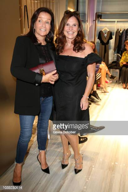 Karin Holler and Judith Epstein during the Boutique Trunk Show Giorgio's on September 13 2018 in Munich Germany