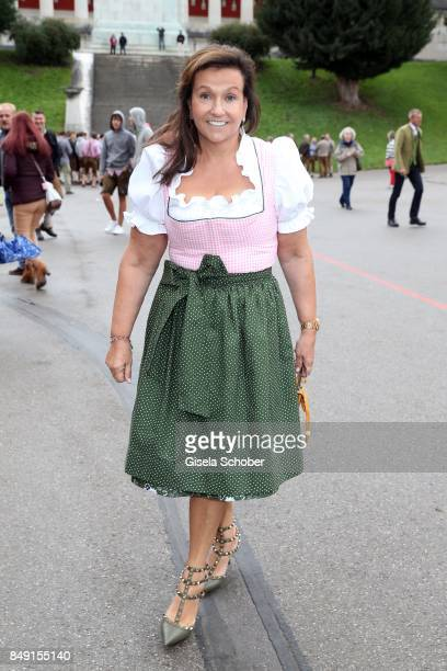 Karin Holler during the Sixt Wiesn during the Oktoberfest at Theresienwiese on September 18 2017 in Munich Germany