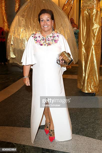 Karin Holler during the traditional Buehnendinner 2016 at Bayerische Staatsoper on September 16 2016 in Munich Germany