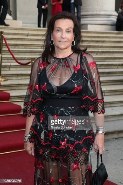 Karin Holler during the traditional Buehnendinner 2018 at Bayerische Staatsoper on September 17 2018 in Munich Germany