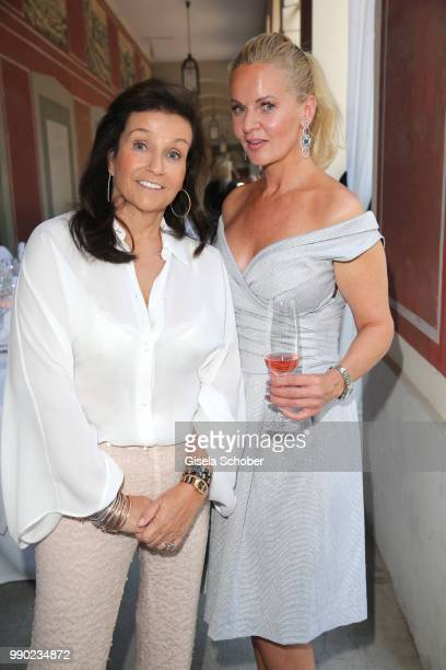 Karin Holler Phoebe Rocchi during the Juwelendinner to celebrate the 25th anniversary of Juwelenschmiede and 50th birthday of Thomas Jirgens at...
