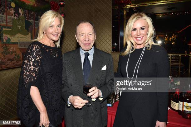 Karin Luter Anthony HadenGuest and Amy Phelan attend A Christmas Cheer Holiday Party 2017 Hosted by George Farias Anne and Jay McInerney at The...