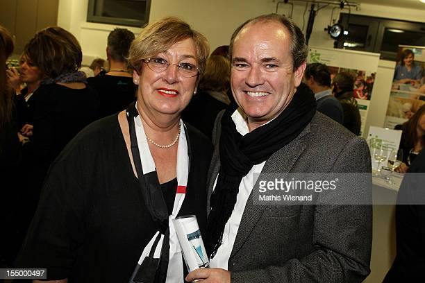 Karin Meincke and Wolfgang Kons attend the Stups Childrens Center Opening on October 30 2012 in Krefeld Germany