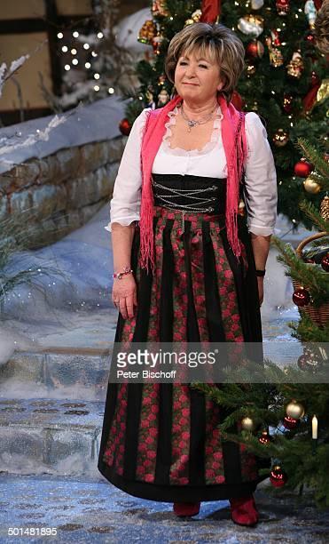 Karin Roth Preisverleihung und MDRMusikshow Die große HerbertRothPreisGala Congress Centrum Suhl Thüringen Deutschland Europa Auftritt Bühne...