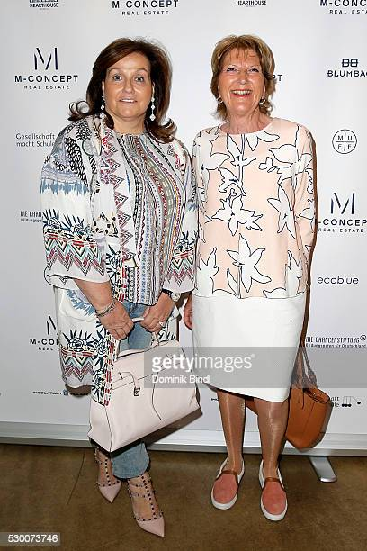 Karin SchottenhamelHoller and Hilla Marx during the presentation of 'Hearts for Children' at Heart on May 10 2016 in Munich Germany