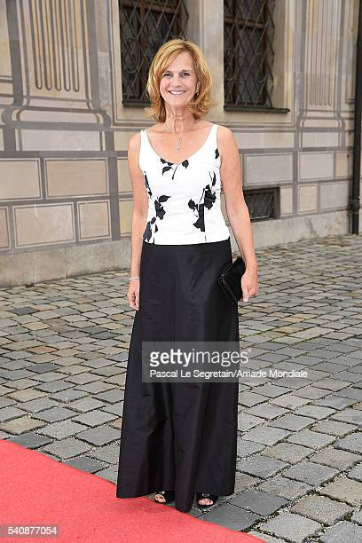 Karin Seehofer attends the AMADE Deutschland Charity dinner on June 14, 2016 in Munich, Germany.