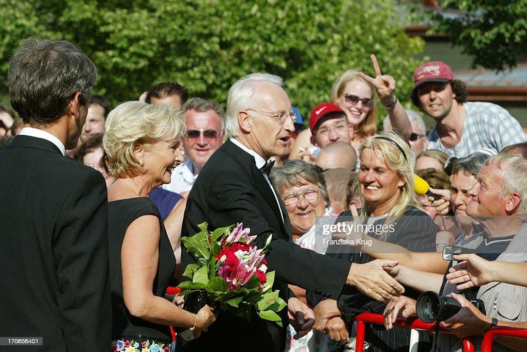 Karin Stoiber + Ehemann Ministerpräsident Edmund Stoiber