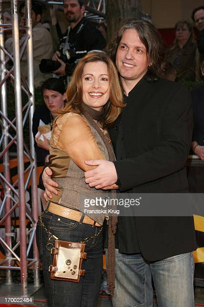 Karin Thaler And husband Milos Malesevic At The Wild Hogs Hogs premiere in Munich