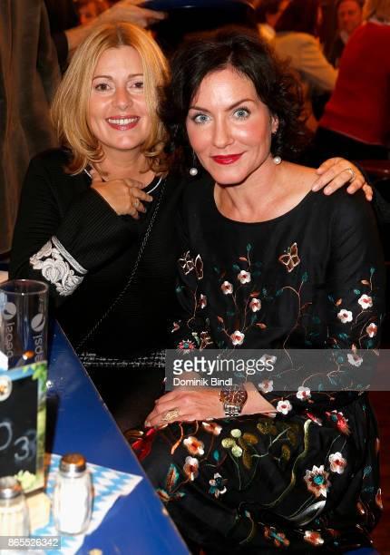 Karin Thaler and Marisa Burger attend the Bayerischer Poetentaler 2017 at Schlachthof on October 23 2017 in Munich Germany