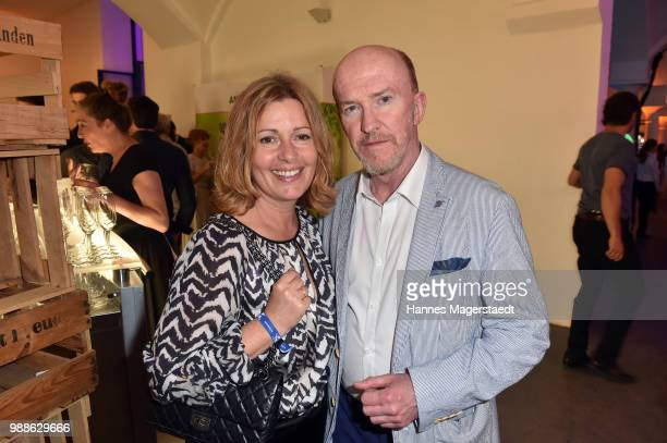 Karin Thaler and Peter Nottmeier at the Event Movie meets Media during the Munich Film Festival on June 30 2018 in Munich Germany
