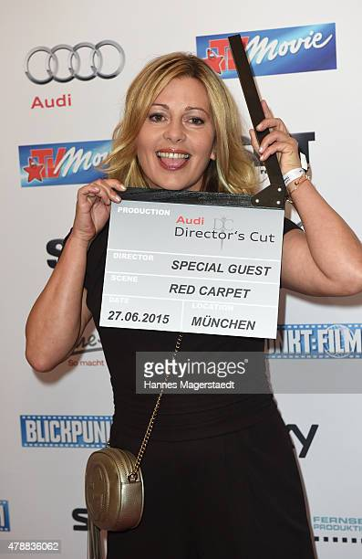 Karin Thaler attends the Audi Director's Cut at the Praterinsel during the Munich Film Festival at Praterinsel on June 27 2015 in Munich Germany