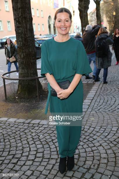 Karin Thaler during the NdF after work press cocktail at Parkcafe on March 14 2018 in Munich Germany