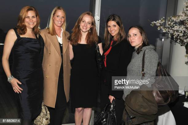 Karin Tracy Jacobson Amanda McCormick Bacal Kristen Campbell and Alicia Mertz attend PEOPLE STYLEWATCH Hosts Cocktail Reception for New Fashion...
