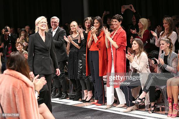 Karin Veit chief designer Marc Cain Helmut Schlotterer Founder and CEO of Marc Cain Kate Bosworth Alexandra Maria Lara Bettina Zimmermann Jasmin...