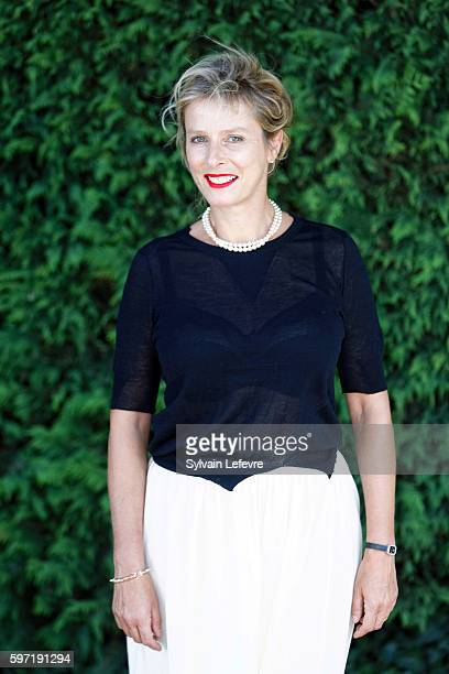 Karin Viard attends 9th Angouleme FrenchSpeaking Film Festival on August 28 2016 in Angouleme France