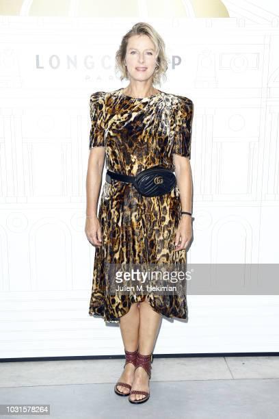 Karin Viard attends the Longchamp 70th Anniversary Celebration at Opera Garnier on September 11 2018 in Paris France