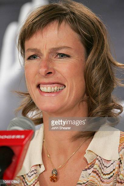 Karin Viard during 2005 Toronto Film Festival 'L'enfer' Press Conference at Sutton Place Hotel in Toronto Canada