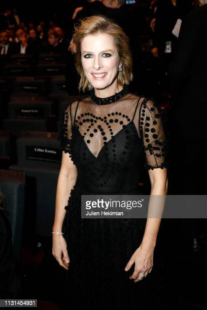 Karin Viard poses during the Cesar Film Awards 2019 at Salle Pleyel on February 22 2019 in Paris France