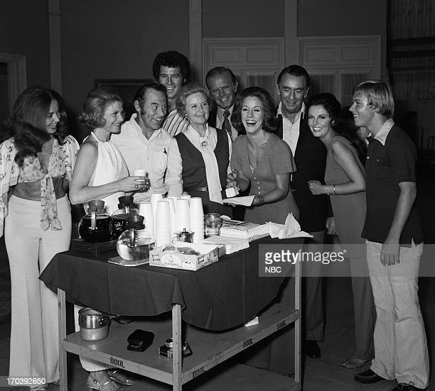 LIVES Karin Wolfe Farewell Party Pictured Suzanne Rogers Corinne Conley producer/director Wes Kenney Jed Allan Frances Reid Mark Tapscott Karin Wolfe...