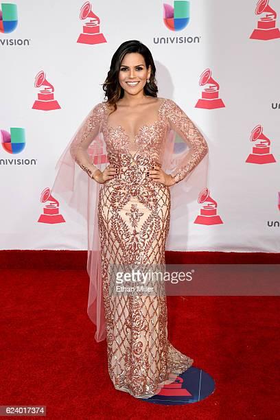 Karina Banda attends The 17th Annual Latin Grammy Awards at TMobile Arena on November 17 2016 in Las Vegas Nevada