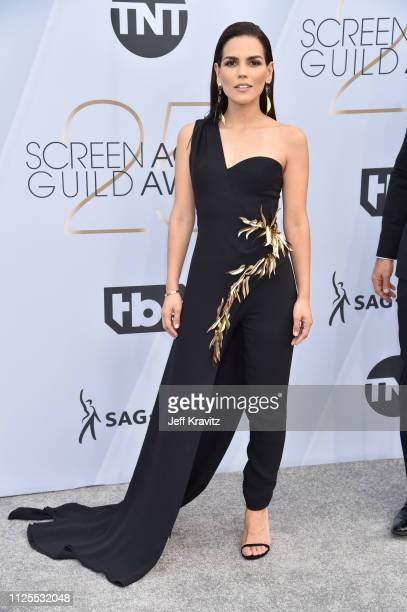 Karina Banda attends the 25th Annual Screen ActorsGuild Awards at The Shrine Auditorium on January 27 2019 in Los Angeles California