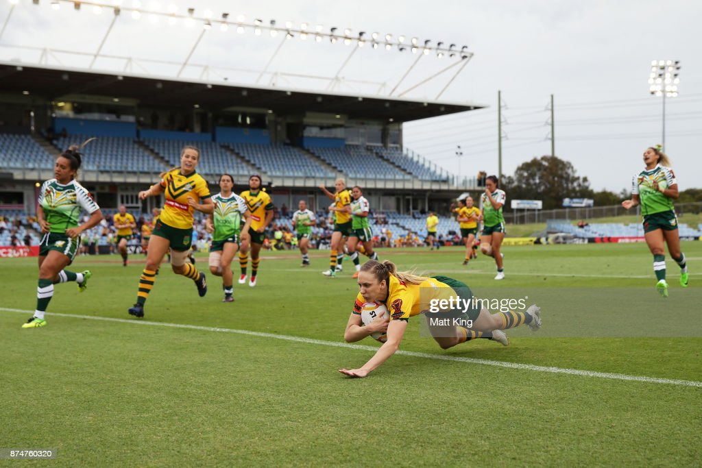 2017 Women's Rugby League World Cup : News Photo