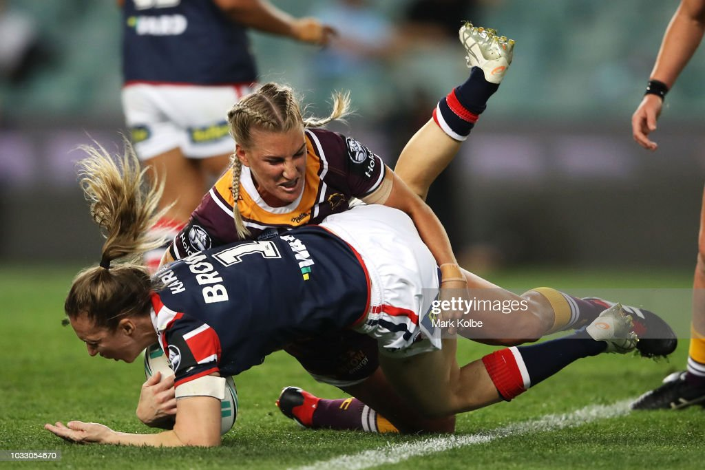 NRLW Rd 2 - Roosters v Broncos : News Photo